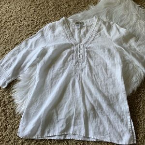 Linen Tunic by Coldwater Creek